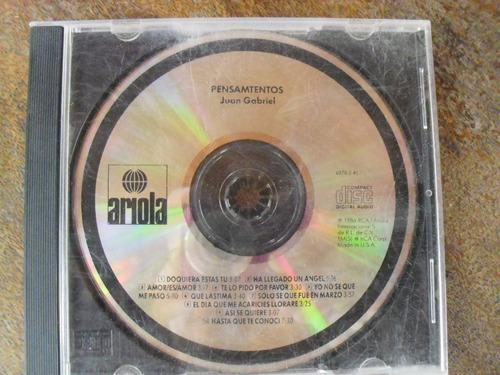 cd de juan gabriel ''pensamientos'' y ''así fue'' adicional