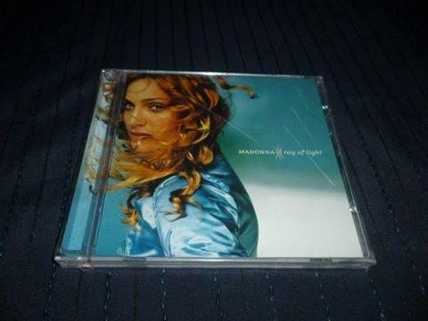 cd de madonna ray of light # traído de usa