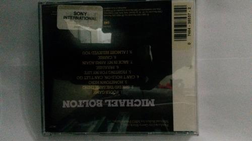cd de michael bolton original y nuevo