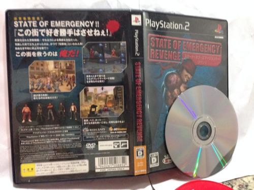 cd de play 2 original state of emergency revenge