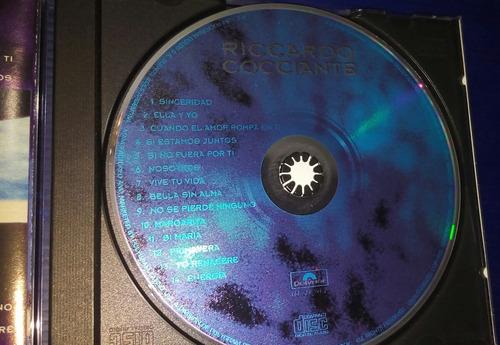 cd de ricardo cocciante. de colección.