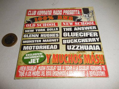 cd de rock club kerrang! presenta: 100% r n r