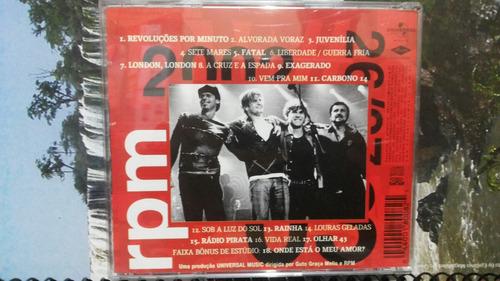 cd de rpm 18 grandes sucessos rádio pirata.