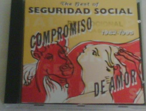 cd de seguridad social - compromiso de amor 1995