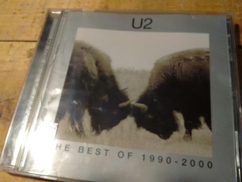 cd de u2 original lo mejor de 1990 al 2000