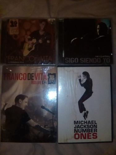 cd de videos y de música