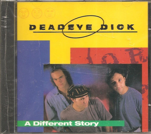 cd deadeye dick - a different story+ new age girl -importado