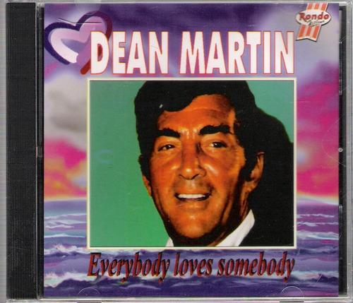 cd dean martin / everybody loves somebody - otímo estado