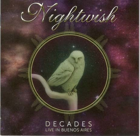 cd - decades live in buenos aires (2 cd) - nightwish