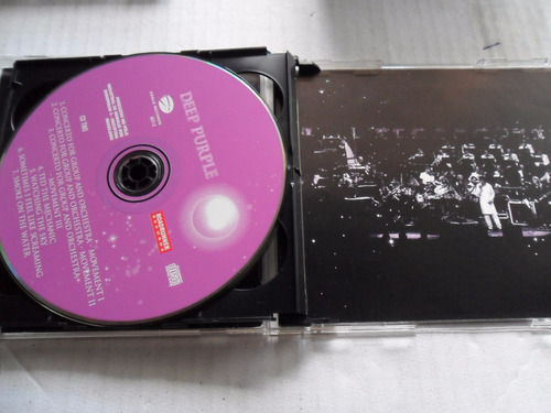 cd deep purple in concert with paul mann orquestra duplo