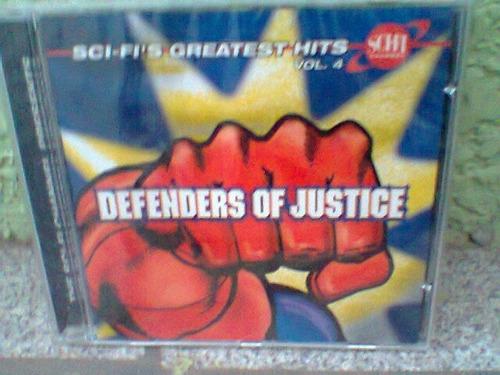 cd defenders of justice/trilha sonora -lacrado-