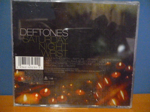 cd deftones - saturday nigth wrist