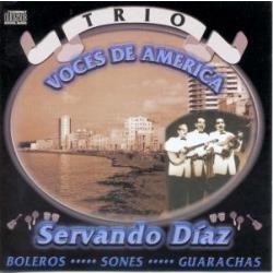 cd  del trio voces de america de servando diaz(cuba) 2000