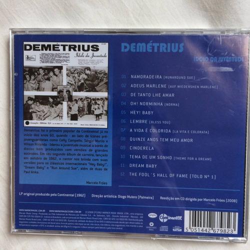 cd demetrius ( ídolo da juventude ) hbs