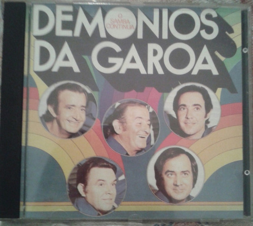 cd demônios da garoa - o samba continua