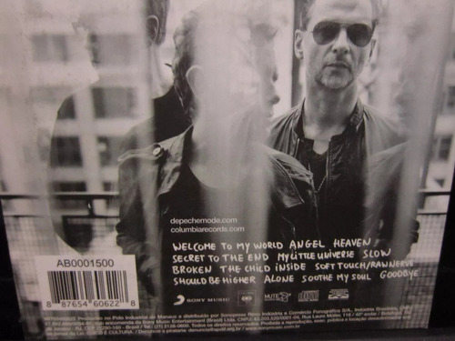 cd depeche mode - delta machine / digipack