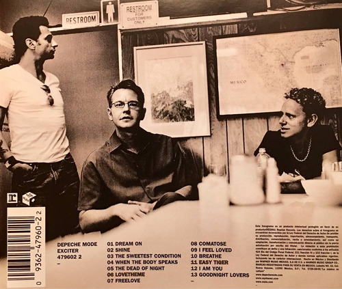 cd depeche mode exiter