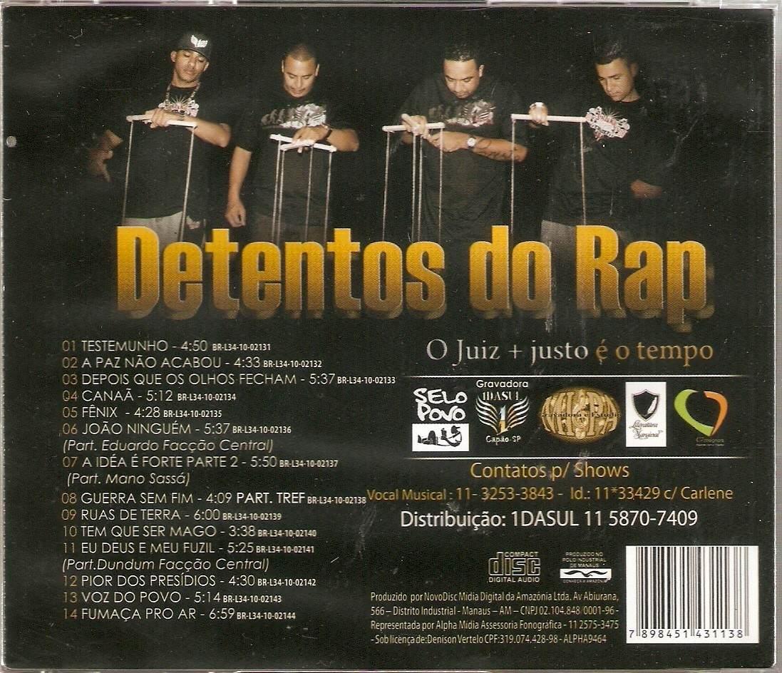 cd detentos do rap novo