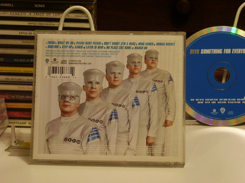 cd devo - something for everybody - nuevo