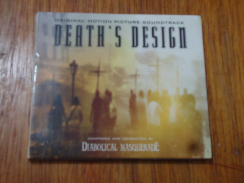 cd diabolical masquerade ¿ death's design - original motion