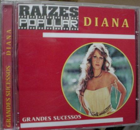 cd  diana  -  raizes popular  -  grandes sucessos  -  b151