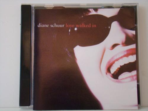 cd - diane schuur - love walked in