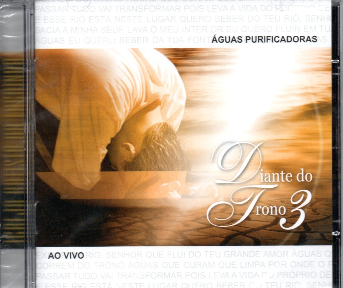 cd diante do trono 3 aguas purificadoras gratis