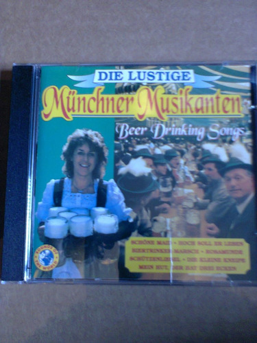 cd die lustige munchner musikanten beer drinking songs