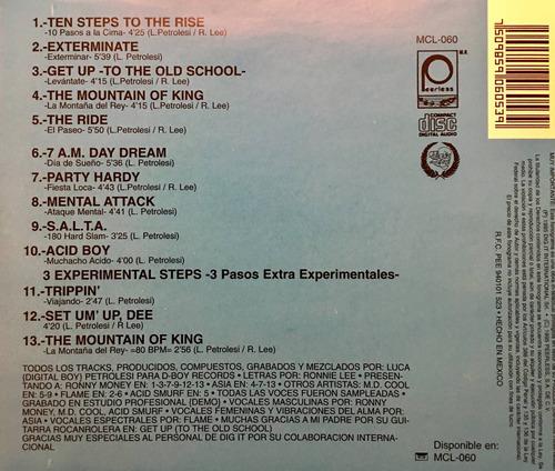 cd digital boy ten steps to the rise usado