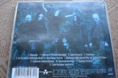 cd dimmu borgir death cult armageddon