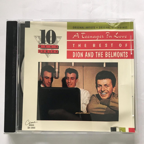 cd dion ant the belmonts the best solo exitos rock & roll
