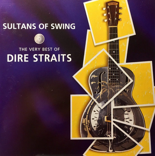 cd dire straits 2cds sultana of swing - made in france