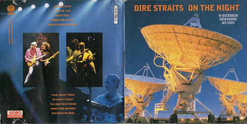 cd dire straits - on the night