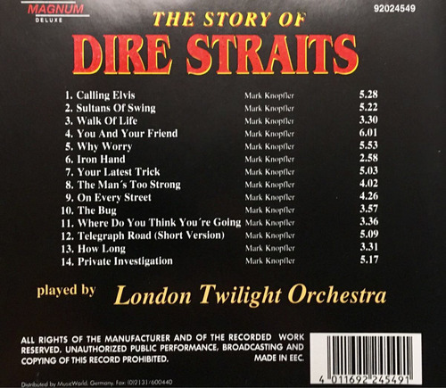 cd dire straits the story of volume 1 london twilight o