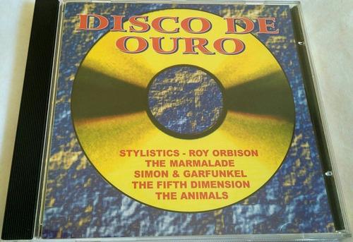 cd disco de ouro