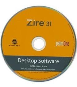 cd disco instalacion original palm zire 31 - factura a / b