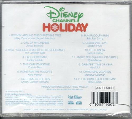 cd disney channel holiday - jonas hanna - lacrado fabrica