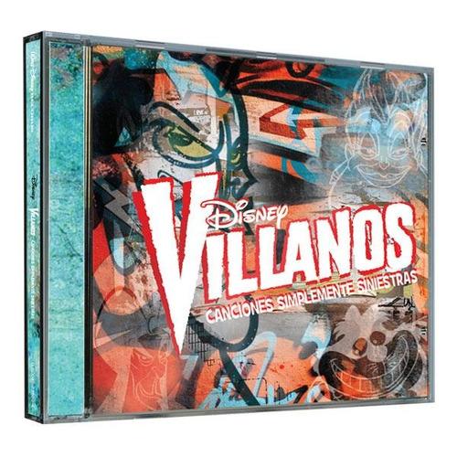 cd - disney villanos