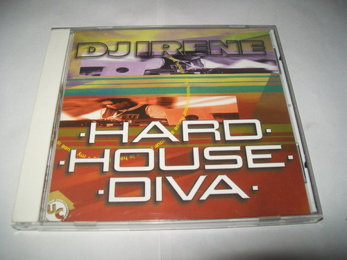 cd dj irene - hard house diva** excelente estado igual novo