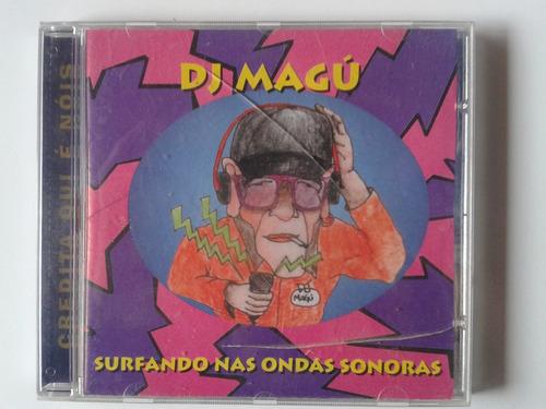 cd dj magú - surfando nas trilhas sonoras