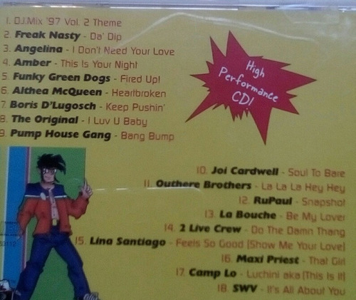 cd dj mix vol2 varios 1997