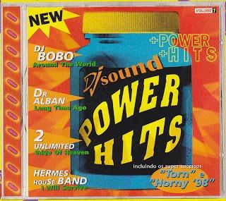 cd - dj sound power hits 1998 - raríssimo - lacrado