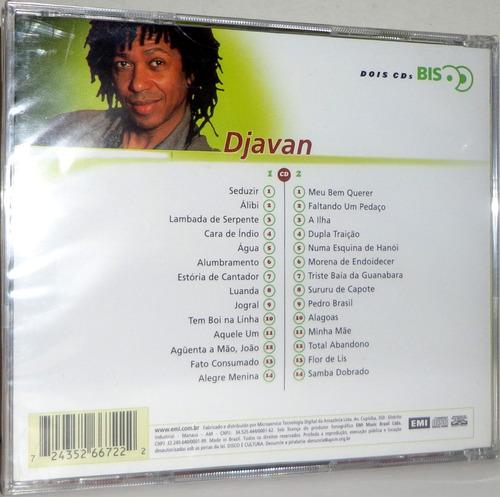 cd djavan - série bis ( cd duplo ) *promoção*