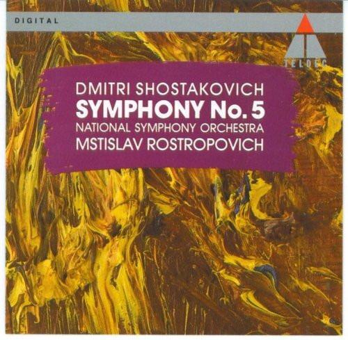 cd dmitri shostakovich - symphony no. 5 national symphony