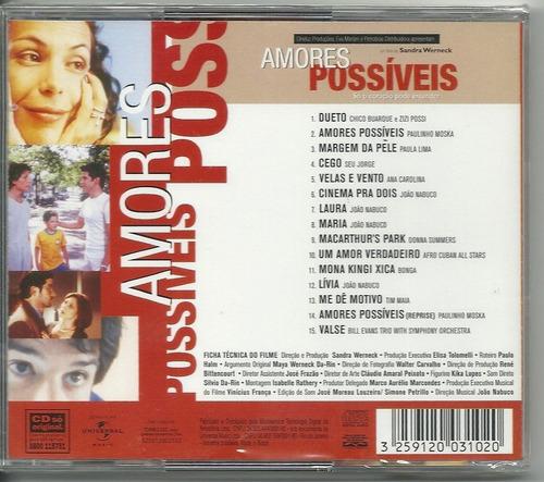 cd do filme   amores possíveis   perfeito estado