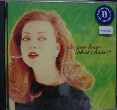 cd  do you hear, what i hear ?   importado -  b36