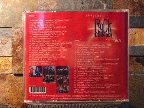 cd doble antologia rock chileno de los '80