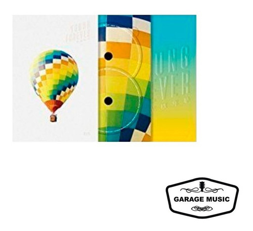 cd doble bts - young forever (day version) - importado