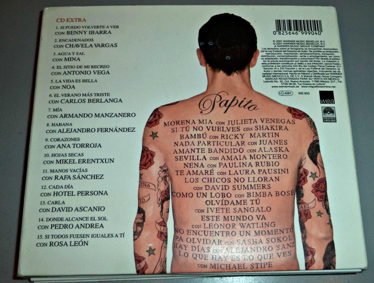 album papito miguel bose