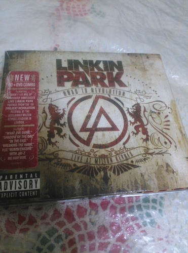 cd doble original de linkin park (cd+dvd)